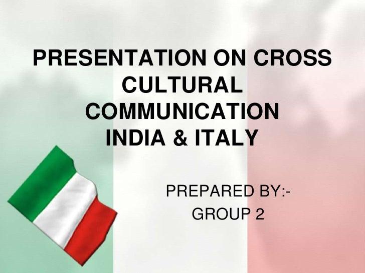 Presentation On Cross Cultural Communication