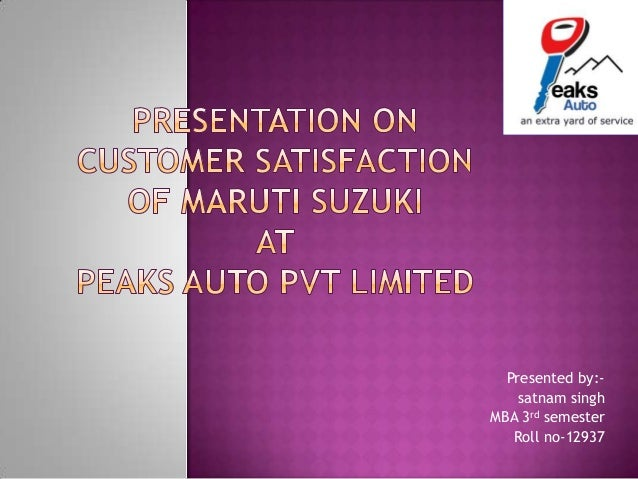 Presented by:- satnam singh MBA 3rd semester Roll no-12937