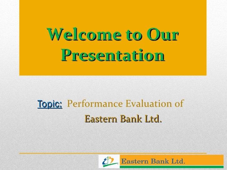 Performance Evaluation at Bank of Maharashtra