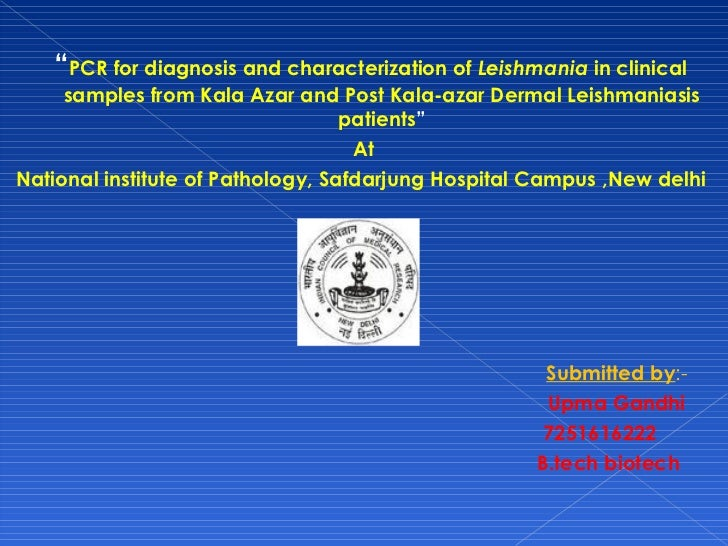 "<ul><li>"" PCR for diagnosis and characterization of  Leishmania  in clinical samples from Kala Azar and Post Kala-azar Der..."