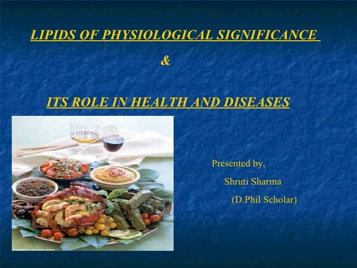 Presentation on lipid