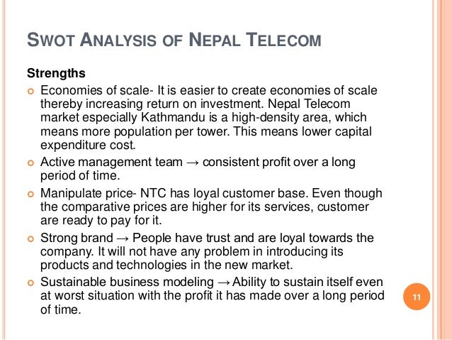 swot analysis of kathmandu Your business by doing a swot analysis of the market/relevant industry and  then  nbsm is head quartered in kathmandu and is the member of ggi-geneva .