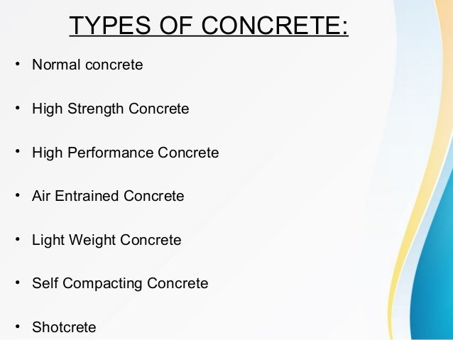 High Strength Concrete Ppt