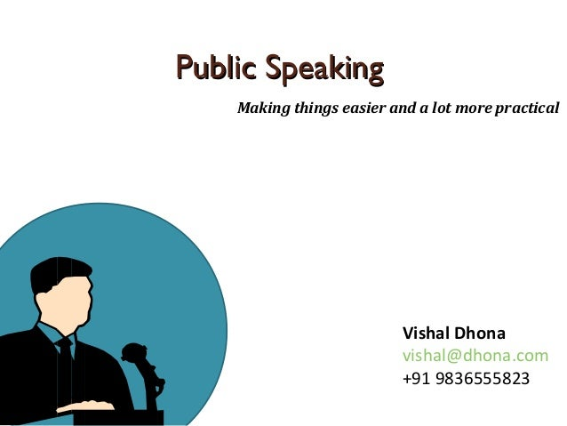 essay on fear of public speaking