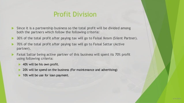 Division business plan