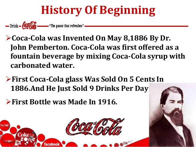 an analysis of the formation of coca cola company and drinks Coca cola company profile - swot analysis: the coca-cola company is the largest brand owner, producer and distributor of global soft drinks it is in.