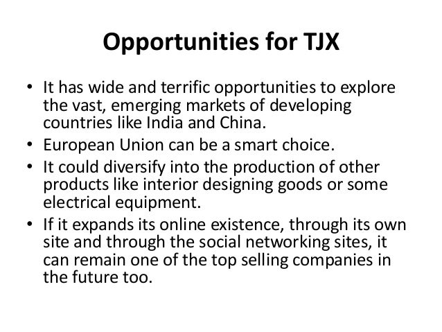 The TJX Companies, Inc. Porter Five Forces Analysis