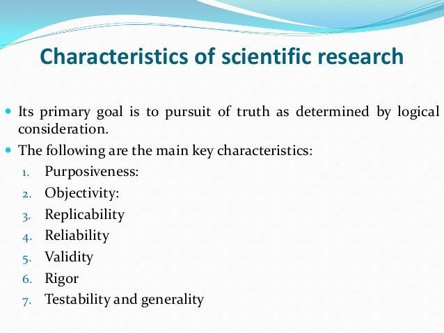 Hypothesis Characteristics