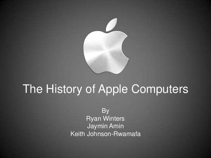 an introduction to the history of apple computer 33 photos of the rise and fall of apple in its earliest  here's a look into the history of apple in photos,  1977 also saw the introduction of the apple ii,.