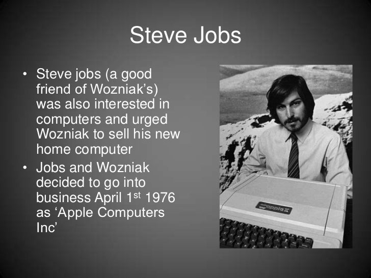 an introduction to the history of the apple computer A brief history of the company that changed the computing world forever includes specifications, a description and pictures of every apple computer ever made.