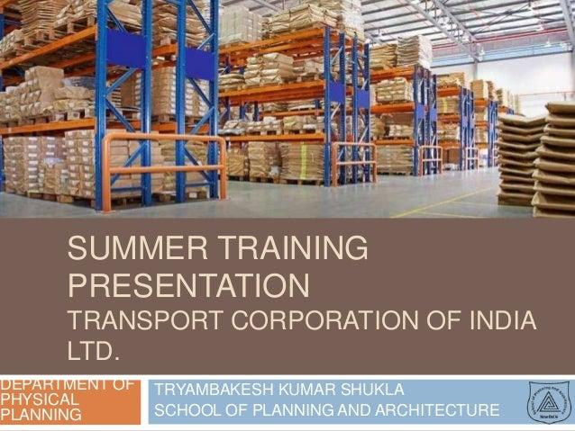 presentation on warehousing and logistics hub mumbai