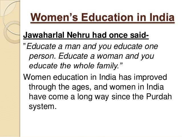 essay on importance of girl education in india Contextual translation of essay of women education in india into hindi human translations with examples: hindi, in simple, baradhiya womens, भारत में महिलाएँ  essay of women education 300 words hindi  essay on important of women education.