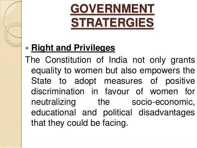 essay on women education and empowerment E -one of the recommendations of national policy on education (1986) by the government of india is to promote empowerment of women through the agency of education and it is considered to be a land mark in the approach to women's education of illiterate.