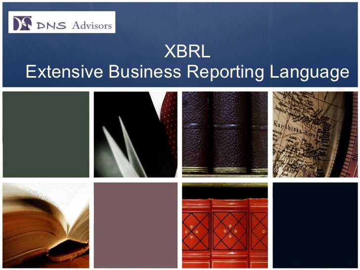Presentation on xbrl   dns advisors