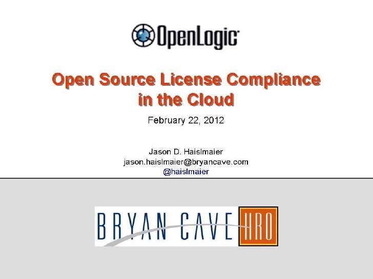 Open Source License Compliance In The Cloud