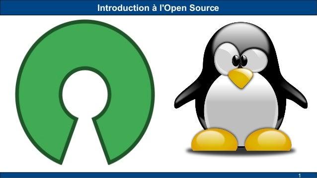 1 Introduction à l'Open Source