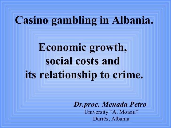 The social and economic impacts of gambling pirate gambling games