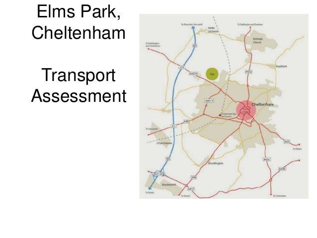 Elms Park, Cheltenham Transport Assessment