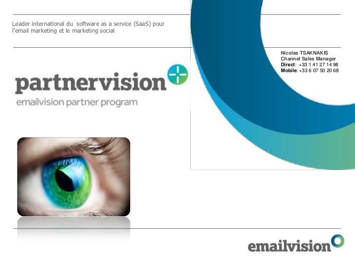 Presentation partnervision pme tpe chiffres
