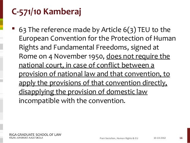article 3 echr Does article 3 of the european convention on human rights enshrine absolute rights 511 through judicial elaboration it has been established that the three broad areas of.