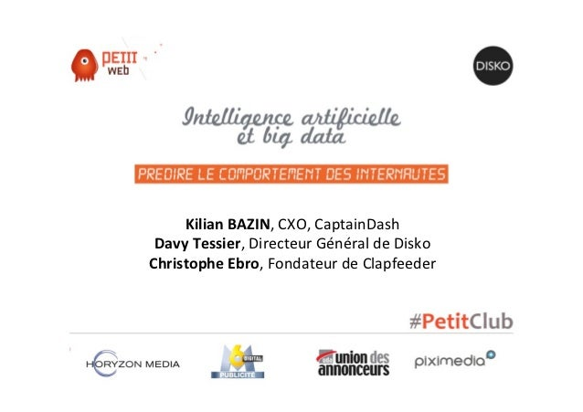 Petit Club - Intelligence artificielle et Big Data
