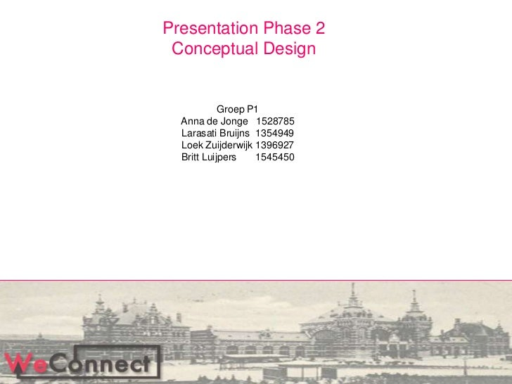 Presentation phase 2 weconnect