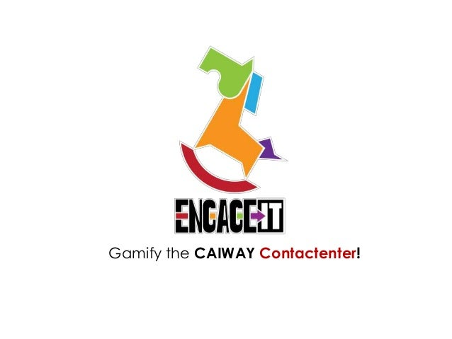Gamify the CAIWAY Contactenter!