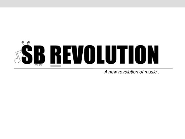A new revolution of music..