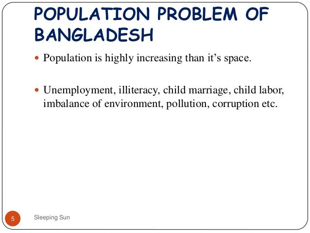 population problem in bangladesh essay example