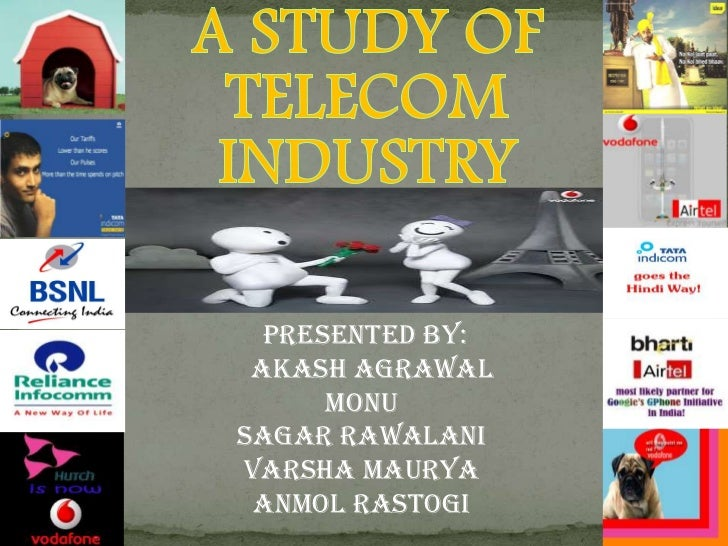 A Study Of Telecom  Industry