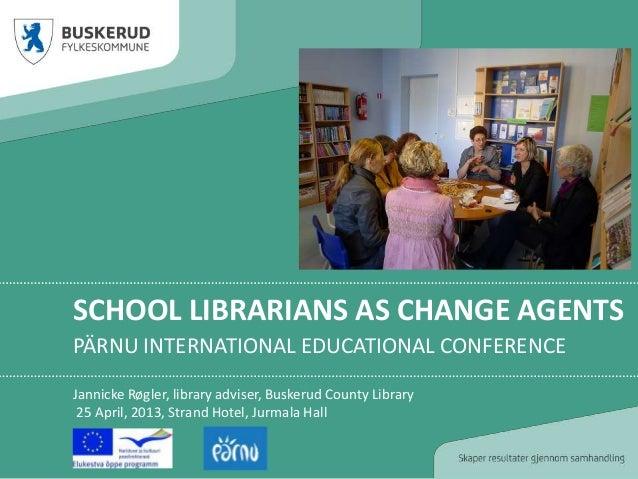 Presentation at Pärnu International Educational Conference