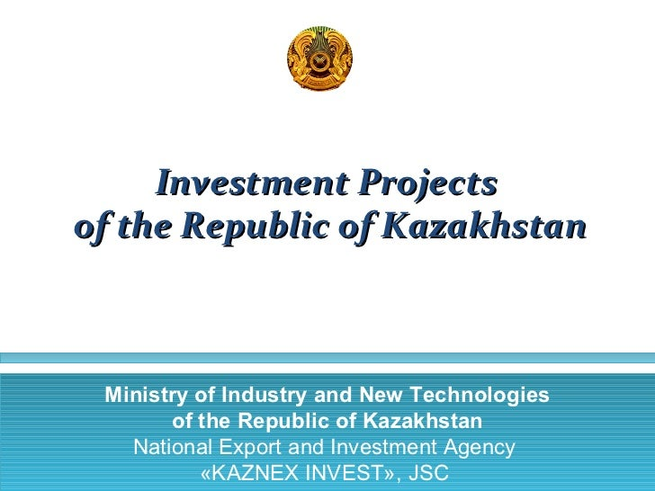 Strategic Investment Projects in Kazakhstan