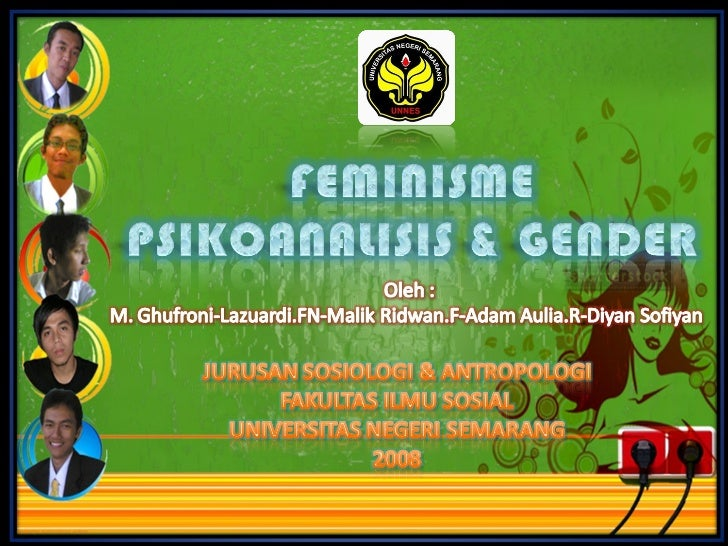 Presentation psikoanalisis & gender