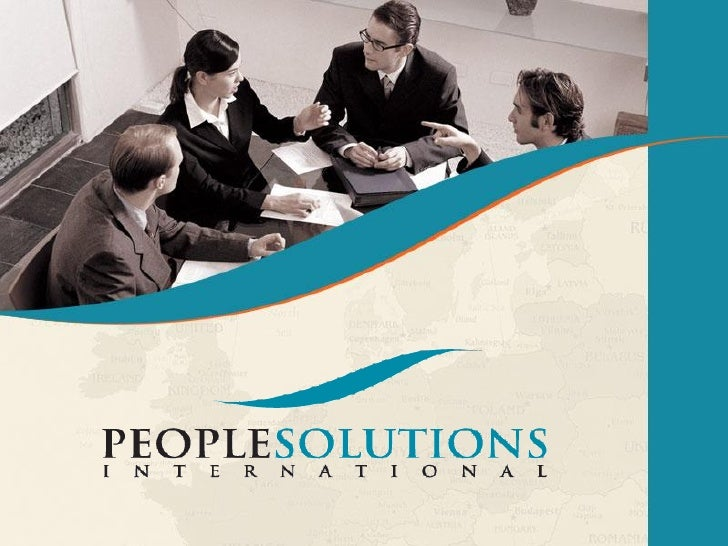 Company Profile   Previously known as You & Us, People Solutions is a Global Human    Resources Solution & Consultancy Pr...