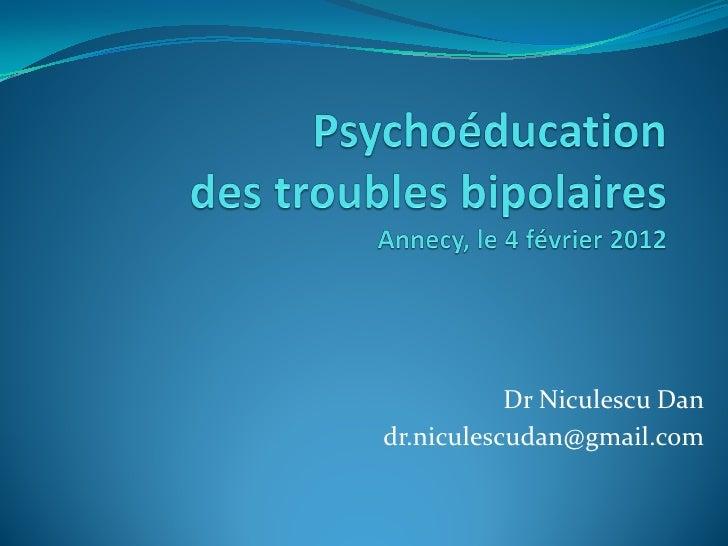 Dr Niculescu Dandr.niculescudan@gmail.com