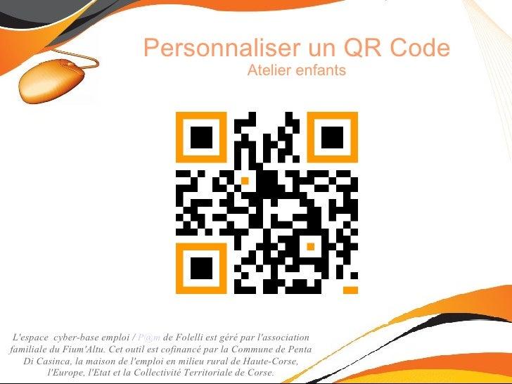 Personnaliser un QR code