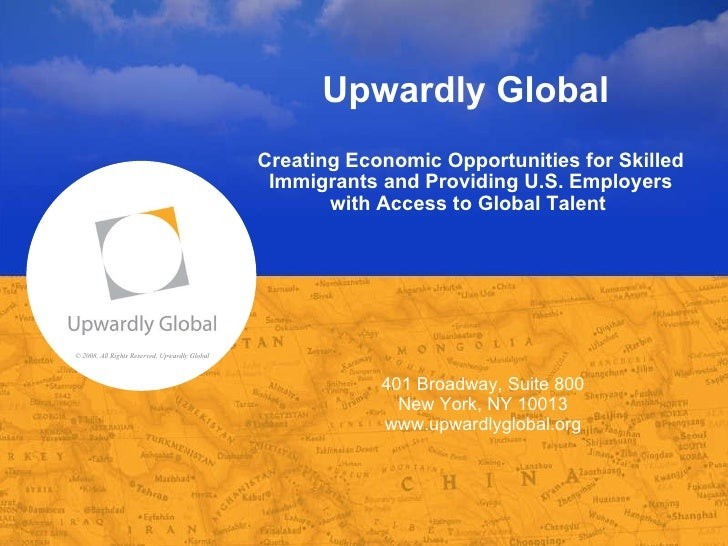 Upwardly Global Presentation to Queens Library 05-18-2010