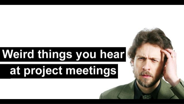 The following statements are actual quotes from project meetings… These are the top selections for 2013 relating to presen...