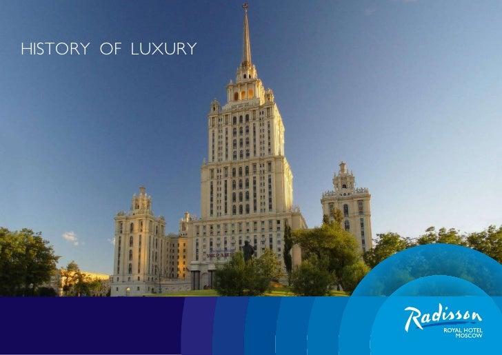 Presentation Radisson Royal Hotel (Moscow)