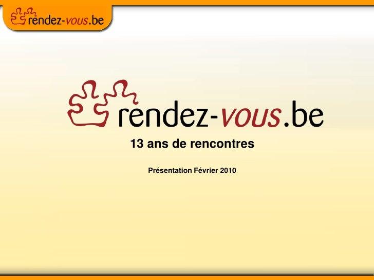 Café Numérique - rencontres en ligne: Rendez-vous.be 17022010