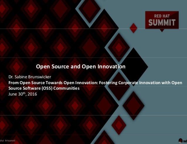 Screen clipping EU Innovation summit presentation
