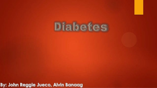 Research Topic Diabetes
