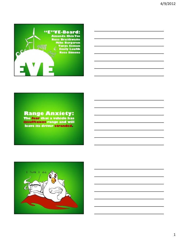 "4/9/2012          ""E""VE-Board:              Amanda Chin Yee              Russ Braithwaite                Mike Bergeron    ..."