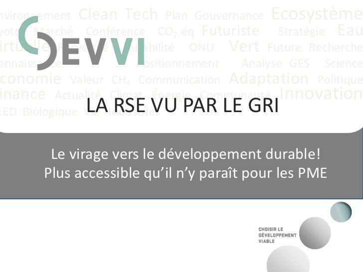 Presentation rse devvi