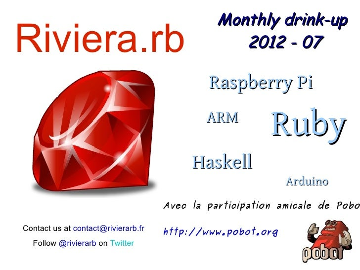 Monthly drink-upRiviera.rb                                        2012 - 07                                             Ra...