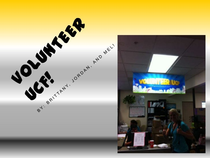 Volunteer UCF/UCF Legal Services