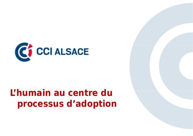 L'humain au centre du  processus d'adoption