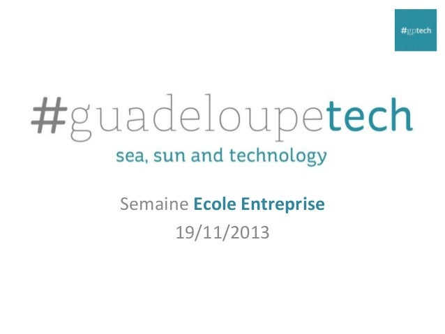 Semaine Ecole Entreprise 19/11/2013