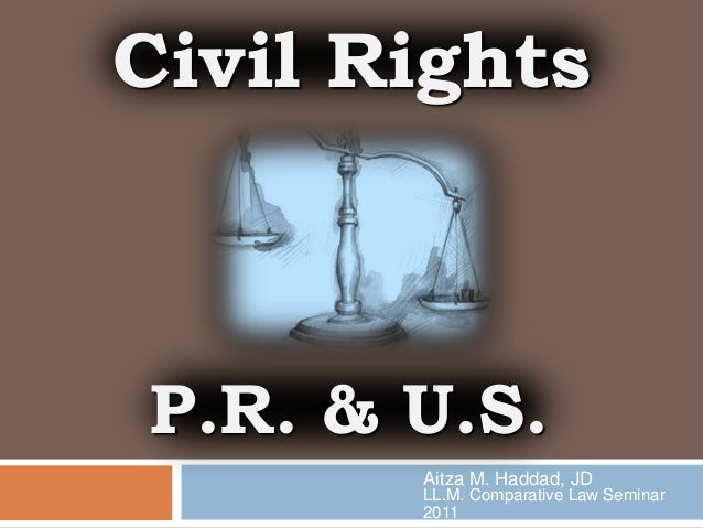Civil Rights: Puerto Rico and United States
