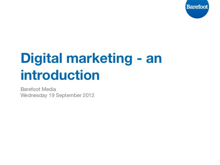 Introduction to digital marketing - Padstow Area Tourism Association
